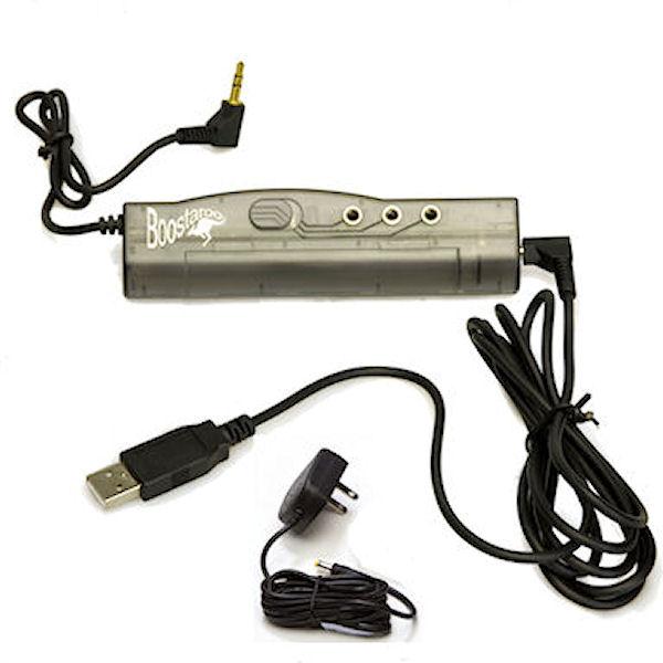AC/Battery/USB Powered Boostaroo Audio Amplifier and Splitter